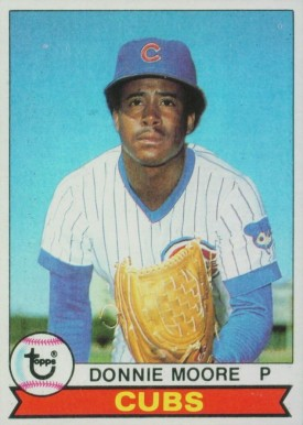 1979 Topps Donnie Moore #17 Baseball Card
