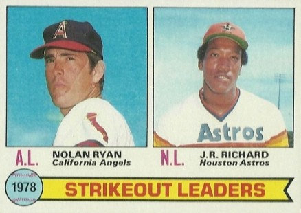 1979 Topps J.R. Richard #6 Baseball Card