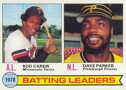 1979 Topps Rod Carew #1 Baseball Card
