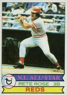 1979 Topps Pete Rose #650 Baseball Card