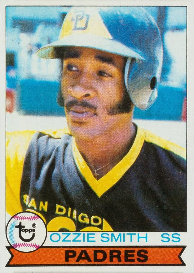 1979 Topps Ozzie Smith #116 Baseball Card