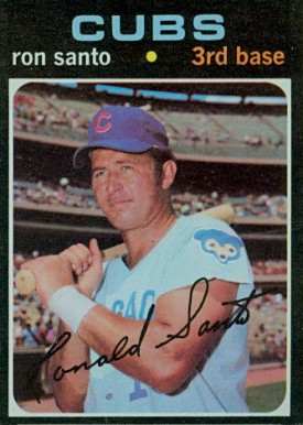 1971 Topps Ron Santo #220 Baseball Card