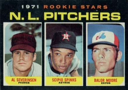 1971 Topps Rookie Stars N.L. Pitchers #747 Baseball Card
