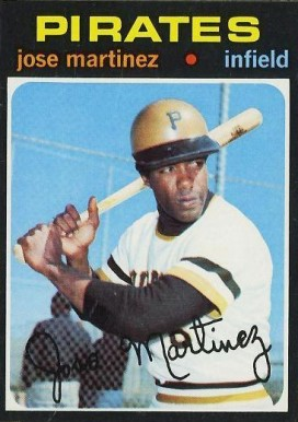 1971 Topps Jose Martinez #712 Baseball Card