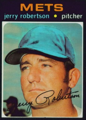 1971 Topps Jerry Robertson #651 Baseball Card
