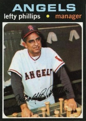 1971 Topps Lefty Phillips #279 Baseball Card