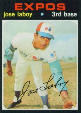 1971 Topps Jose Laboy #132 Baseball Card