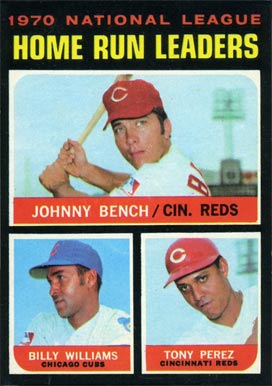 1971 Topps Johnny Bench #66 Baseball Card