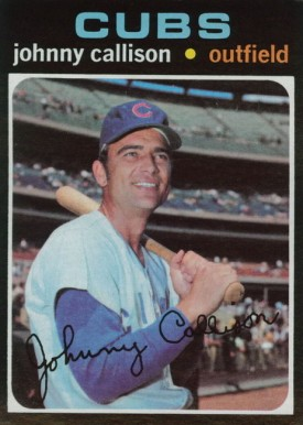 1971 Topps Johnny Callison #12 Baseball Card