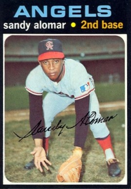 1971 Topps Sandy Alomar #745 Baseball Card