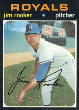 1971 Topps Jim Rooker #730 Baseball Card