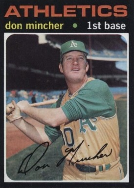 1971 Topps Don Mincher #680 Baseball Card