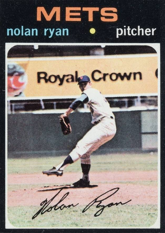 1971 Topps Nolan Ryan #513 Baseball Card