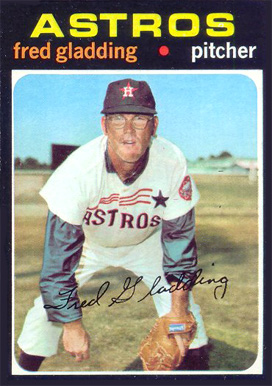 1971 Topps Fred Gladding #381 Baseball Card