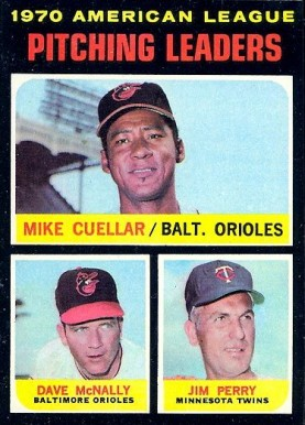 1971 Topps Mike Cuellar #69 Baseball Card
