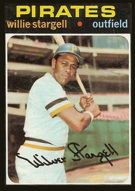 1971 Topps Willie Stargell #230 Baseball Card