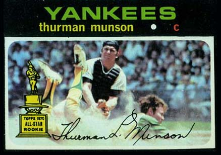 1971 Topps Thurman Munson #5 Baseball Card