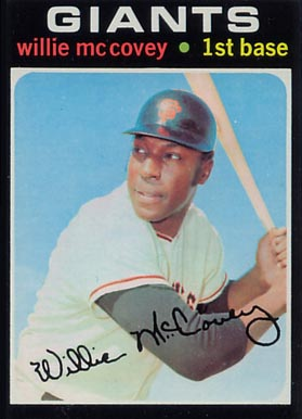 1971 Topps Willie McCovey #50 Baseball Card