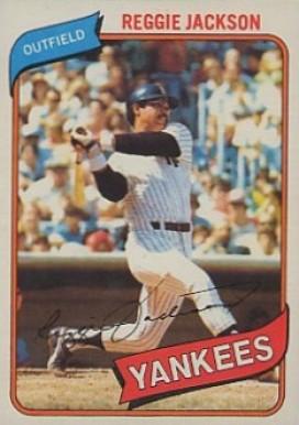 Reggie Jackson Hall Of Fame Baseball Cards