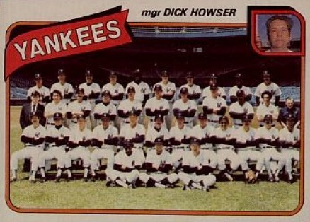 1980 Topps Dick Howser #424 Baseball Card