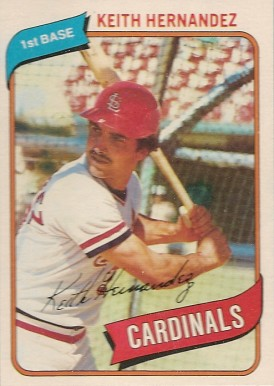 Keith Hernandez Baseball Cards