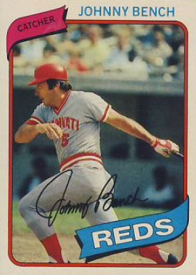 1980 Topps Johnny Bench 100 Baseball Card Value Price Guide