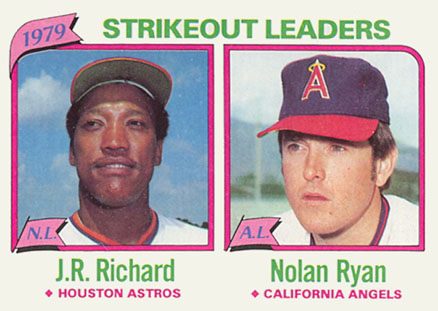 1980 Topps J.R. Richard #206 Baseball Card