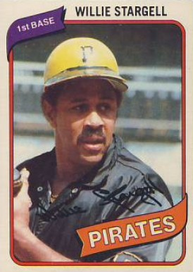 1980 Topps Willie Stargell #610 Baseball Card
