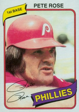 1980 Topps Pete Rose #540 Baseball Card