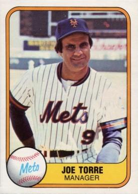 Joe Torre Hall Of Fame Baseball Cards