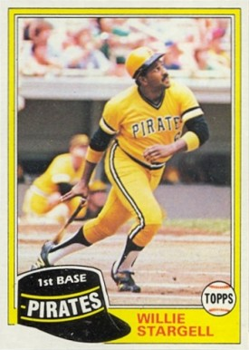 1981 Topps Willie Stargell #380 Baseball Card