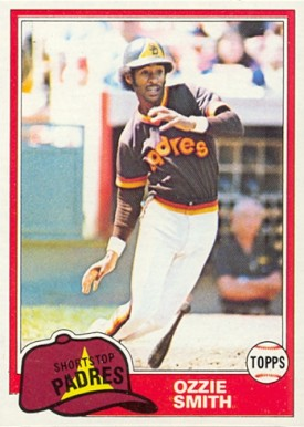 1981 Topps Ozzie Smith #254 Baseball Card