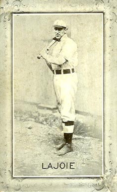 1907 Novelty Cutlery Postcards Nap Lajoie #16 Baseball Card