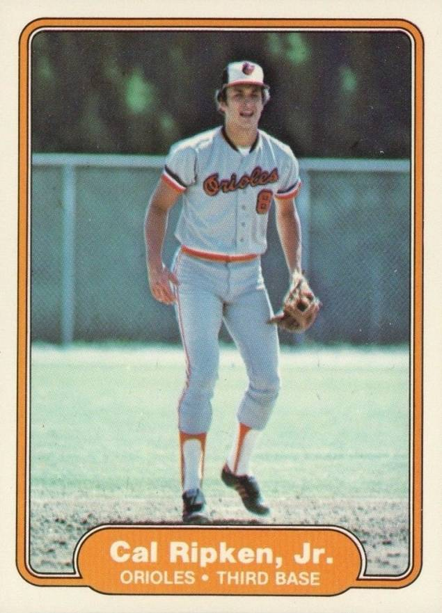 1982 Fleer Cal Ripken #176 Baseball Card