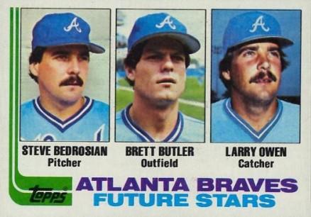 1982 Topps Brett Butler 502 Baseball Card Value Price Guide