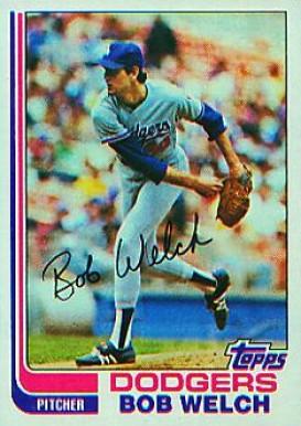 Bob Welch Baseball Cards
