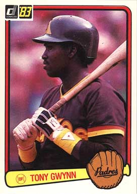 1983 Donruss Tony Gwynn #598 Baseball Card
