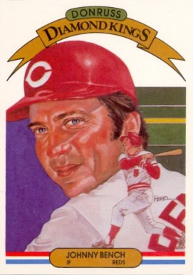 1983 Donruss Johnny Bench #22 Baseball Card