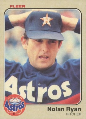 1983 Fleer Nolan Ryan #463 Baseball Card