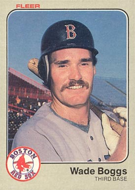 1983 Fleer Wade Boggs #179 Baseball Card