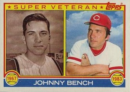 1983 Topps Johnny Bench 61 Baseball Card Value Price Guide