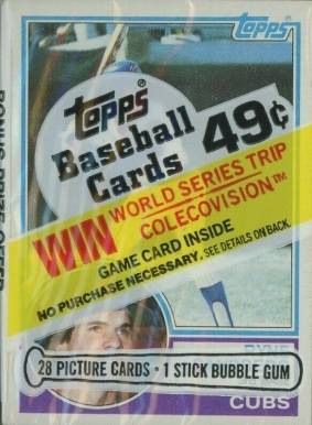 1983 Topps Cello Pack #CP Baseball Card
