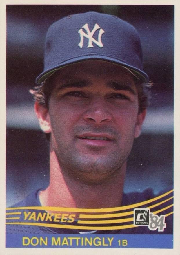 1984 Donruss Don Mattingly 248 Baseball Card Value Price