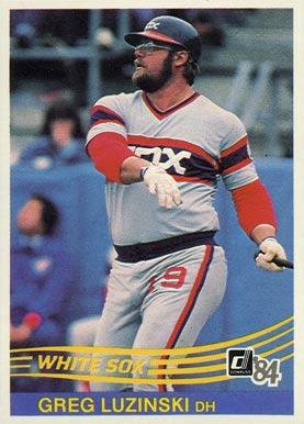 1984 Donruss Greg Luzinski #122 Baseball Card