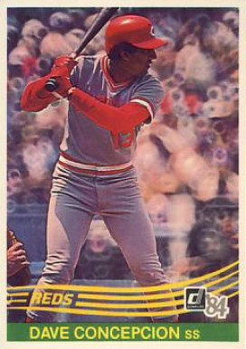 1984 Donruss Dave Concepcion #121 Baseball Card