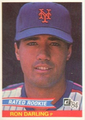 1984 Donruss Ron Darling #30 Baseball Card