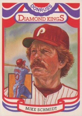 1984 Donruss Mike Schmidt #23-steele Baseball Card