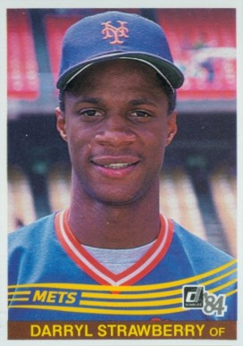 1984 Donruss Darryl Strawberry #68 Baseball Card