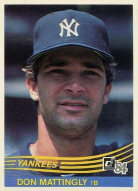 1984 Donruss Don Mattingly #248 Baseball Card