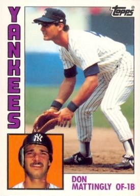 1984 Topps Tiffany Don Mattingly 8 Baseball Card Value
